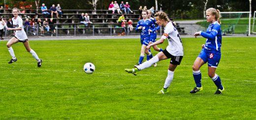 Kretslagsspelar, Ina Tveito Sandvik. (Foto: Inghild Sætrevik)